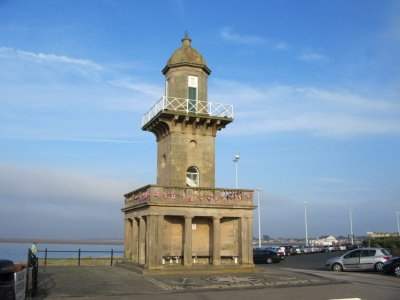 FLEETWOOD LIGHTHOUSE BLUE SKY